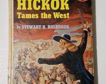 Landmark Book Series #25 - Wild Bill Hickok by Stewart H. Holbrook