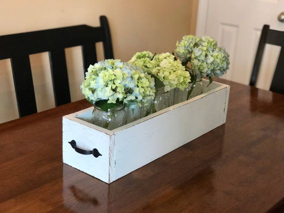 Items similar to rustic farmhouse wood box centerpieces on