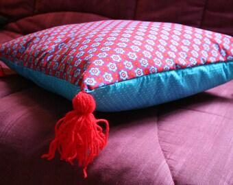 Folk cushion gift idea