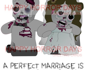 Perfect Marriage Wedding Card