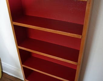 Upcycled Pine Bookcase