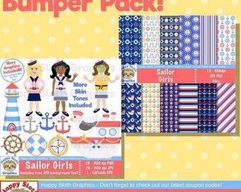 Sailor clipart | Etsy