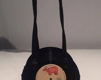 "7"" Olivia Newton-John Rockin' Record Bag"