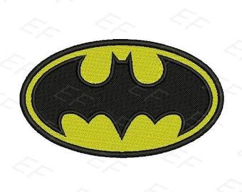 Machine Embroidery design - Batman Embroidery design - instant download digital file