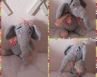 Elephant soft crochet