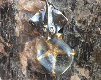 "Pendant ""The sea fairy tale"""