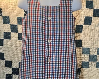 Red, white and blue dress size 1