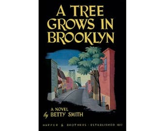 Canvas Art Print - A Tree Grows in Brooklyn ( Betty Smith )