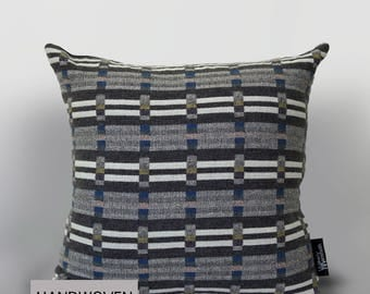 Geometric Grey Cushion (65x65cm)