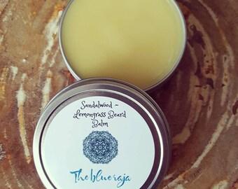 Sandalwood Lemongrass Beard & Mustache Balm