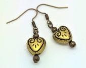 Heart Shaped Earrings, An...