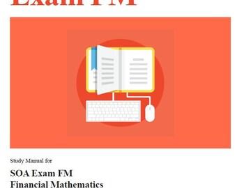 Asm study manual fm pdf