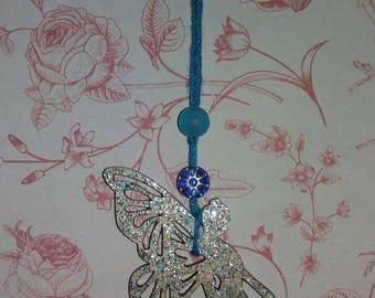 Fairy bag / key charm. Glitter fairy bag/key charm.