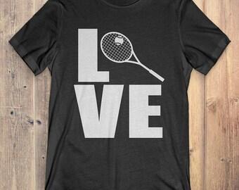 Tennis T-Shirt Gift: Love Tennis