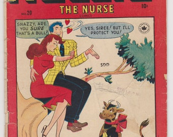 Nellie the Nurse Comic book - Issue #20 - 1949