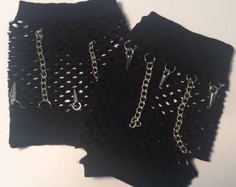 Rock 'n' Roll Fishnet Gloves