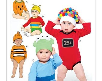 Sewing pattern from costume for baby 0-24 months M7672 Mc Call's