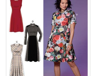 M7651 Mc Call's dress sewing pattern