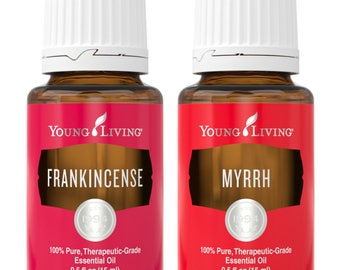 Young Living Frankincense & Myrrh Essential Oils Sample Set; 1mL, 1.5mL, 2mL, 3mL sample set