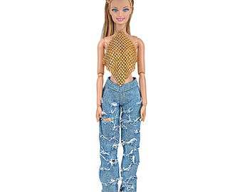 Barbie clothes cowgirl outfit