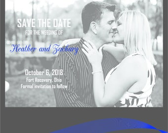 Personalized Save the Date