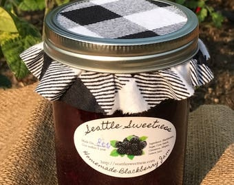 Homemade Blackberry Jam - 1 pint