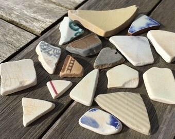 Genuine scottish sea pottery