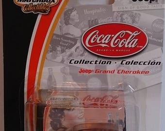 Jeep Grand Cherokee Matchbox Collectibles Coca-Cola #91581