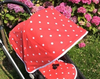 Buggy hoods and matching seat liners