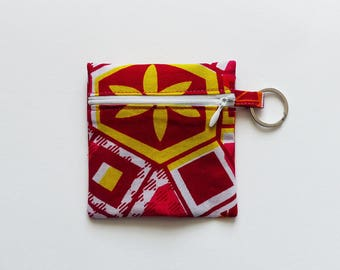 Coin / key wax * red & yellow *.