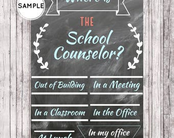School Counseling Office Decor