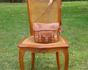 leather satchel, small camera bag in leather, leather, leather, leather satchel shoulder bag Messenger bag,