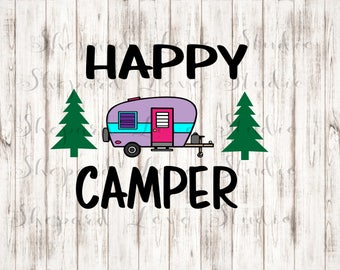 Camper Clipart Etsy