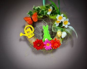 Decorative wreath for Easter