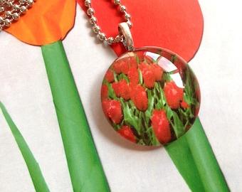 Dutch Tulip Necklace
