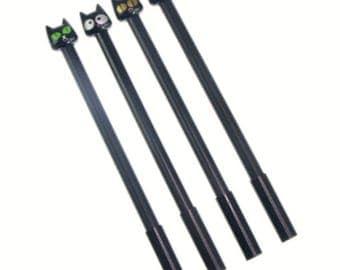 Black Cat Pens. Cute Cat Pens. Kawaii School Supplies. Back to School. Black Gel Pens. Cute Stationery. Cat Lover Gift. Crazy Cat Lady.