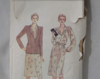 Vogue Pattern 7817 Size 8