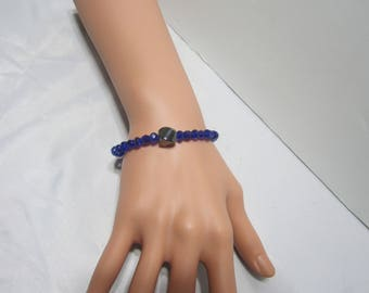 Peridot And Hematite Bracelet