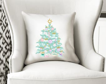Christmas Pillow, Christmas Pillow Cover, Christmas Decor, Holiday Pillow, Throw Pillow, Christmas Decorative Pillow, Chrismas Home Decor