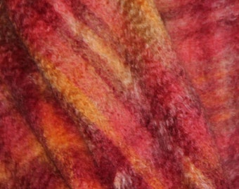 shawl woven 100% mohair from france