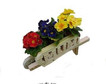 Mum Wheelbarrow Planter