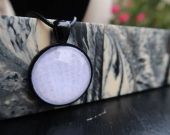 Subtle Seashell Pattern Pendant