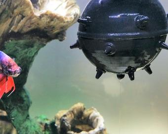 Aquarium Decoration Sea Mine Floating Aquarium Decor Fish Tank Accessory Fish Tank Decor
