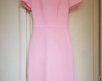70s pink wiggle dress