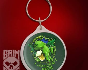 Keychain I Lovecraft Beer
