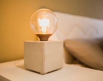 Concrete Lamp Night Lamp