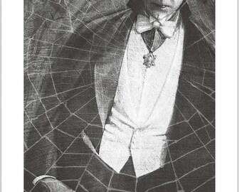 Bela Lugosi as Count Dracula signed giclee