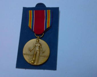 WW2 Freedom From Fear and Want Medal