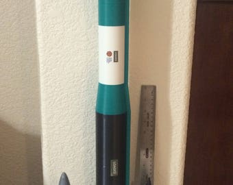 Minuteman III ICBM, large, non-painted