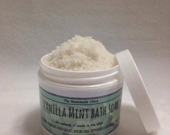 Vanilla Mint Bath Soak
